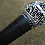 SHURE SM58 by Laineema