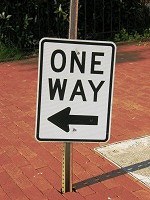 One Way.Sign001 by bizbuzzmedia