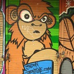 The London Frontline Monkey by Wootang01